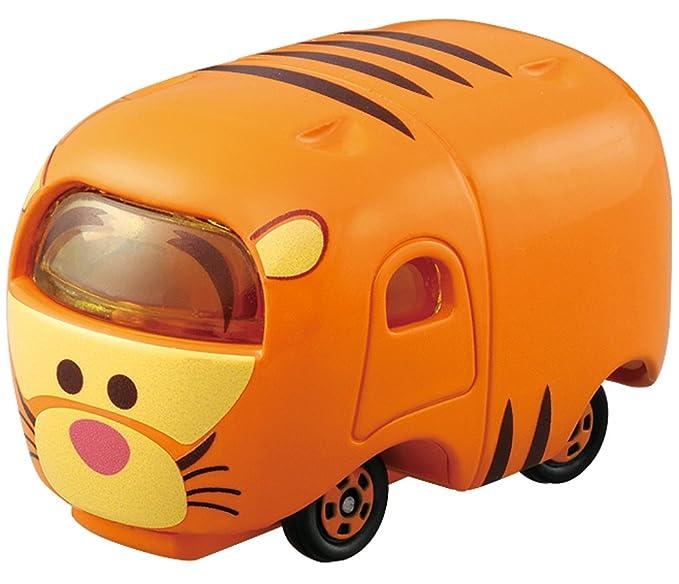 Amazon.com: Takaratomy Tomica Disney Motors Tsum Tsum Mini Car Figure, Tigger: Toys & Games