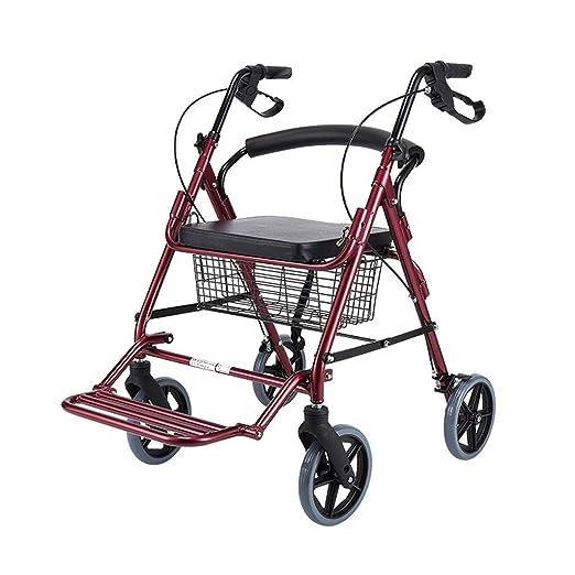 Andador de Andador con Anillas estándar para Caminar con Frenos de ...