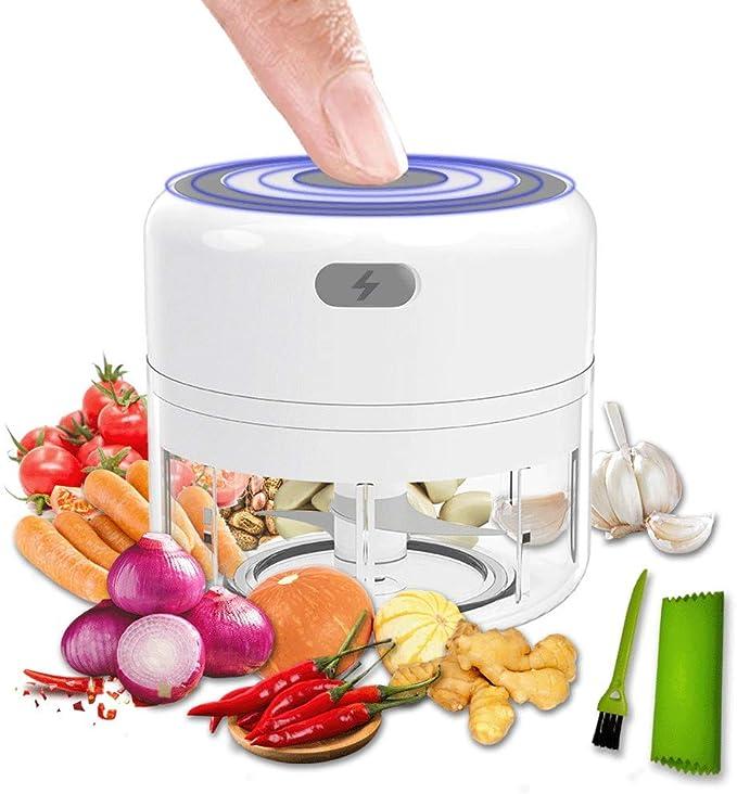 1Pc Garlic Press Chopper Ginger Mincer Hand Presser B2T Grinder Crusher Too Q8J1