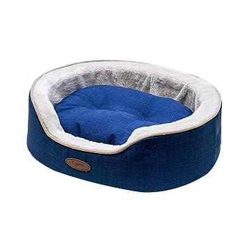 ANLEI Cama para Perro Circular Confortable y chaleureux, Fácil de Limpiar de Nido de Animales Suministros para Animales s/m/l, 01, Medium: Amazon.es: Hogar
