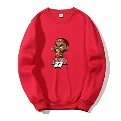 WEEKEND SHOP Basketball Hoodies Couples Casual Style 3D Print Sweatshirts Hoody Tracksuits Red