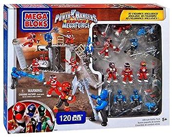 Super Battle Rangers Pack Mega BloksPower MegaforceUltimate eWEH2I9YD