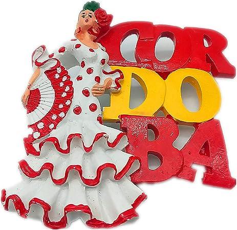 Hqiyaols Souvenir Chica Bailarina Flamenco Sevilla España Refrigerador 3D Imán de Nevera Recorrido Recuerdos Ciudad Colección Cocina Decoración Tablero Blanco Etiqueta Resina: Amazon.es: Hogar
