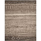 Cheap Safavieh Tunisia Collection TUN1711-KHV Brown Area Rug, 10 feet by 14 feet (10′ x 14′)