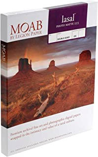 """product image for Moab Lasal Photo Matte, Double Sided, Bright White Archival Inkjet Paper, 235gsm, 4x6"""", 50 Sheets"""