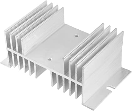 SSR Radiator Uxcell New Dissipation Heat Sink for Solid State Relay