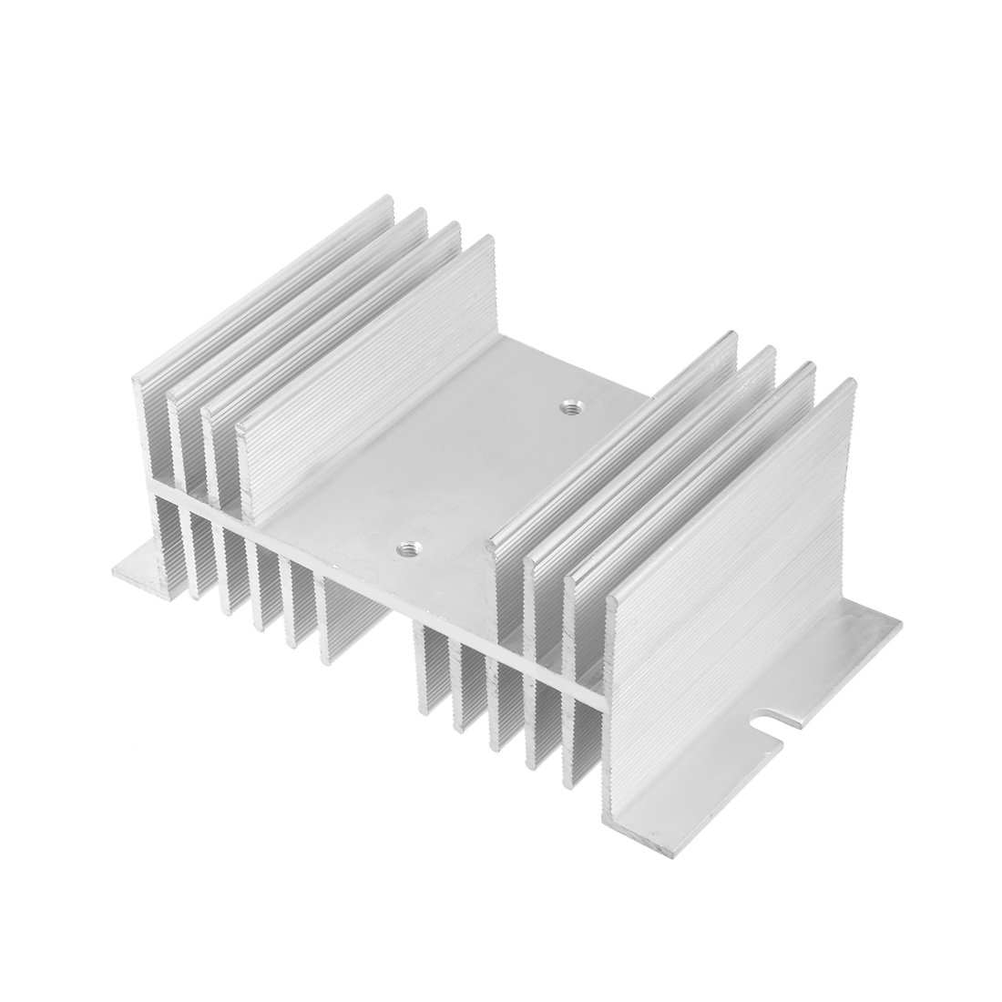 uxcell Aluminum Heat Sink SSR Dissipation for Single Phase Solid State Relay 10A-100A