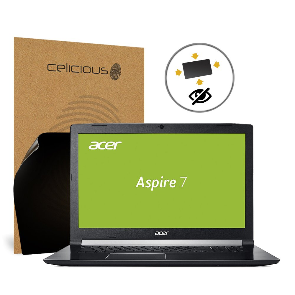 Celicious Privacy Plus 4-Way Anti-Spy Filter Screen Protector Film Compatible with Acer Aspire 7 A717-71G