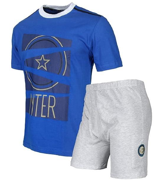 Pijama Hombre Completo Internacional ropa Inter Fútbol * 24102 Royal S