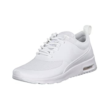 elegant shoes official shop attractive price Nike Damen Air Max Thea Hellgrau Leder/Synthetik/Textil ...