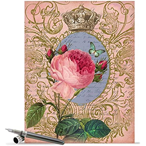 J2379FVDG Jumbo Valentine's Day Card: Romance And Roses With Envelope (Extra Large Version: 8.5 x 11) Sales