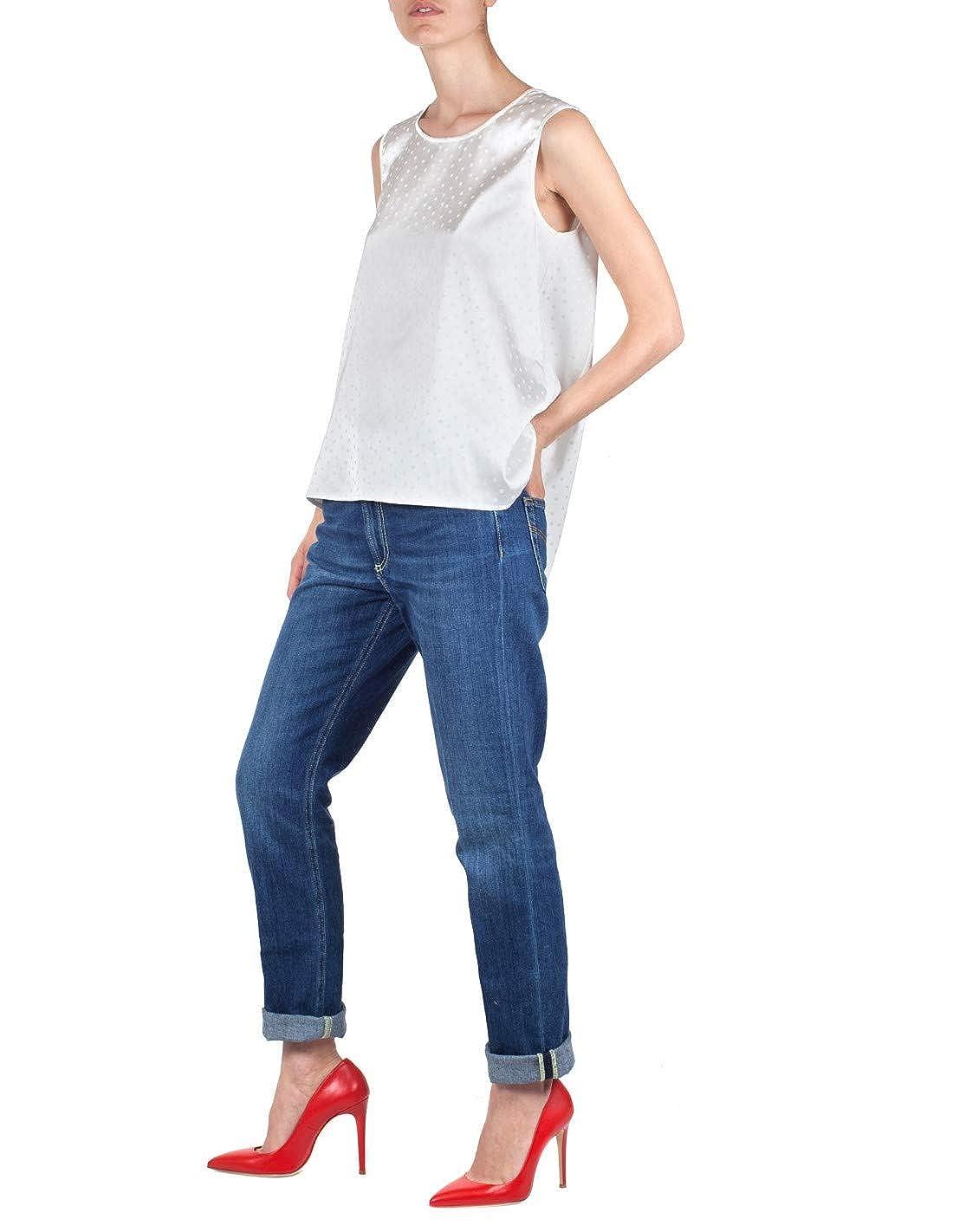 Top Woman Cream S53040 90P36 Top Cue Panna Spring//Summer 2019-331117035 High