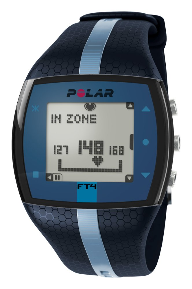 Polar FT4 Heart Rate Monitor, Unisex (Blue/Blue) by Polar