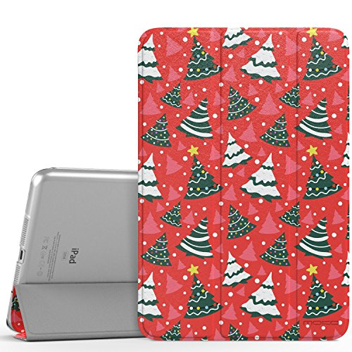 Super Slim Smart Leather Cover Case for Apple iPad Air 2 - Red - 9