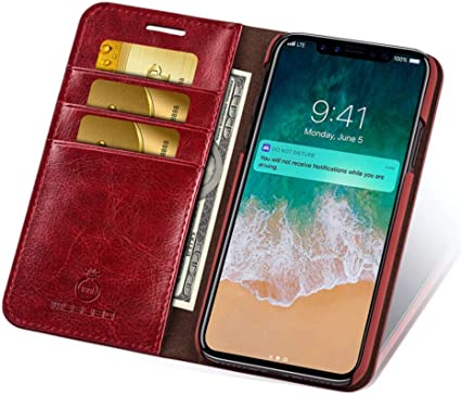 Case Galaxy S6 Edge #3 Red Magnetic Shockproof Flip Wallet Case for Samsung Galaxy S6 Edge Bear Village Premium PU Leather Cover TPU Bumper with Card Holder