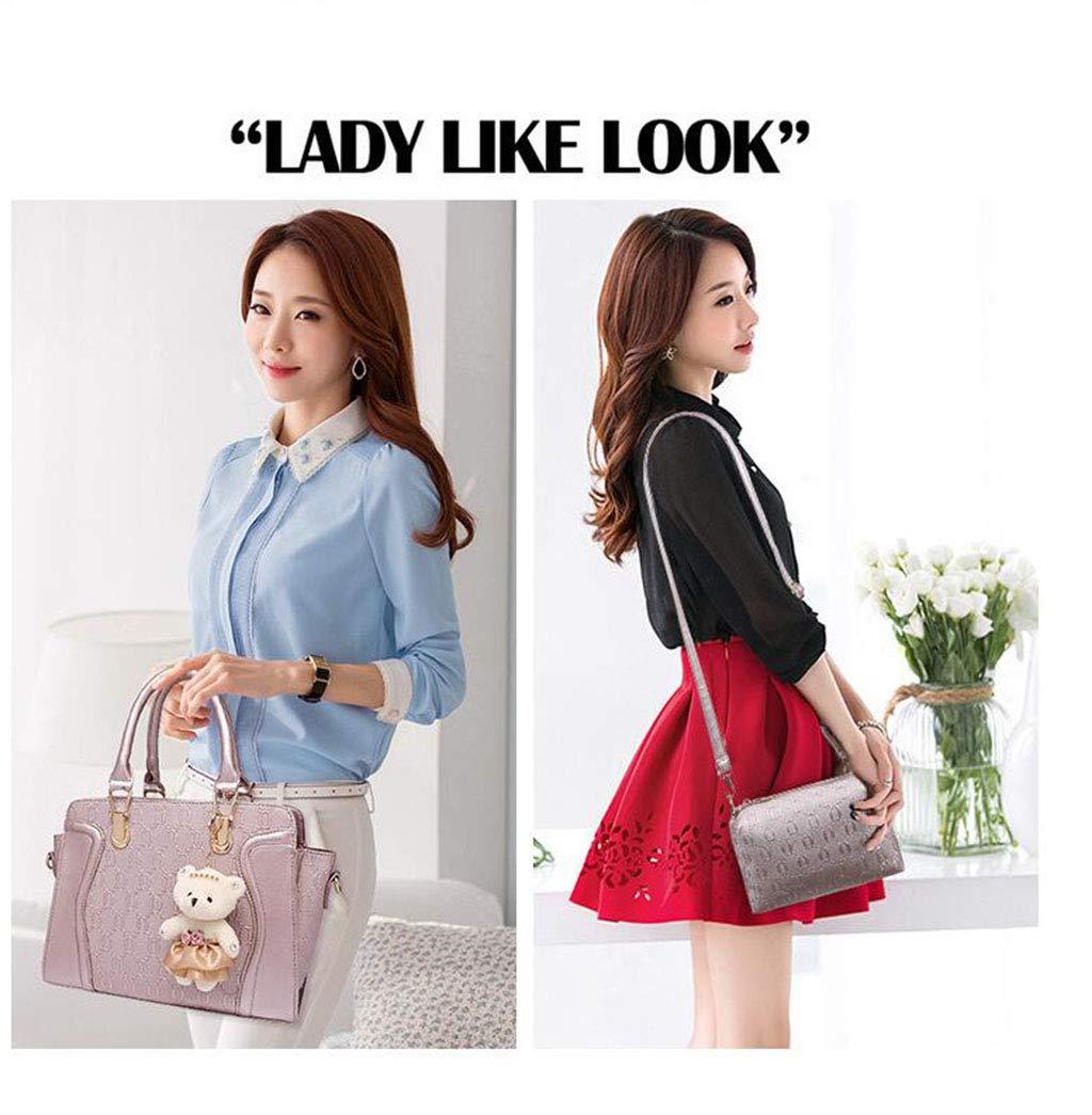 MYMAO PU Leder Handtaschen Frauen Crossbody Bag Portable 4PCS Bag Bag Bag Multi-Farbe Fashion Bag Shoulder Bag,rot B07Q2MW36X Schultertaschen Tadellos 8bb060