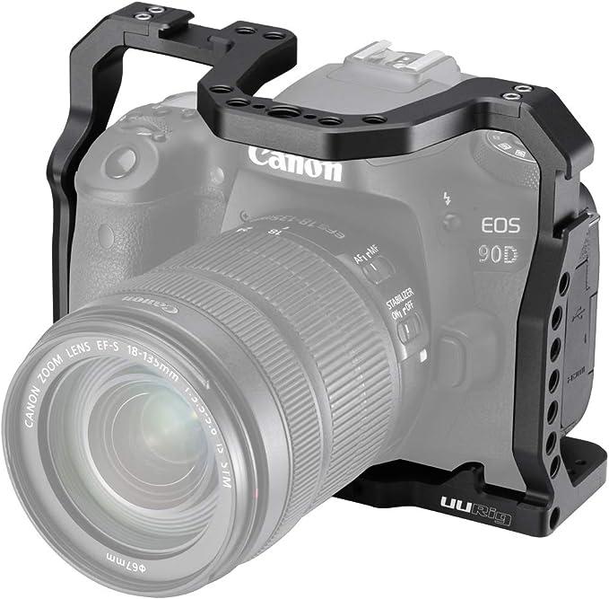 Uurig C Eos 90d Kamerakäfig Für Canon Eos 90d 80d Kamera