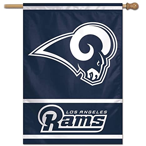 bd3f0c26303 Amazon.com   WinCraft Los Angeles Rams Home and House Flag   Sports ...