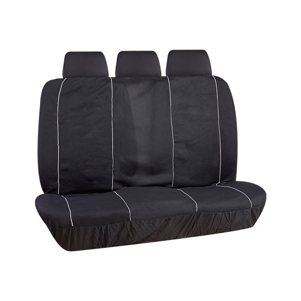 UR URLIFEHALL Universal Car Seat Cover Full Set Cotton Car Seat Protector Comfortable Car Seat Cushion Fit Most Car,Truck,SUV or Van Black and Red