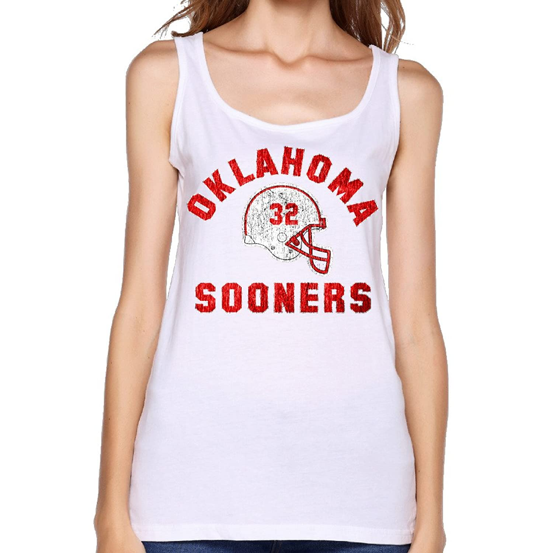 Women's OU Oklahoma Sooners Helmet Samaje Perine Tank Top-