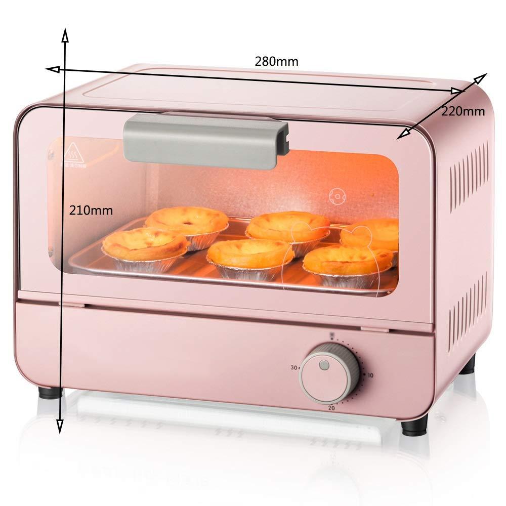 NKDK オーブンミニ電気オーブンチェリーパウダー家庭用小型オーブン -38 オーブン B07RW83WGX