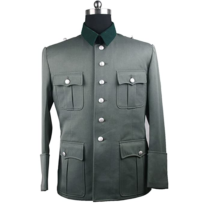 Men's Vintage Style Coats and Jackets ww2sale WW2 German M41 Officer Feld Bluse $140.23 AT vintagedancer.com