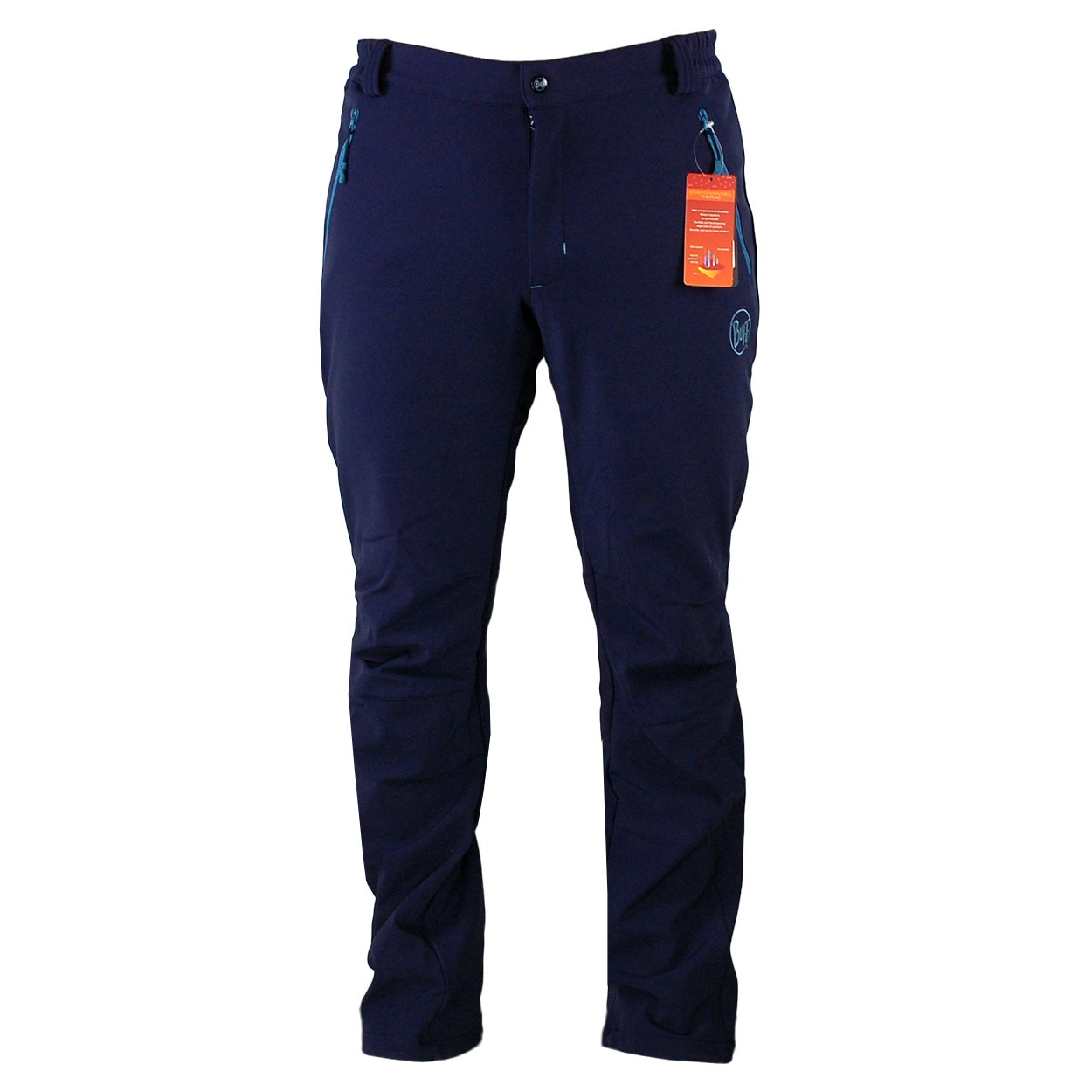 Buff Herren Trekking Pant Hunt - Farbe Blau