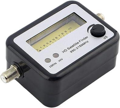 Ballylelly Buscador de señal Digital satelital Alineador de señal ...