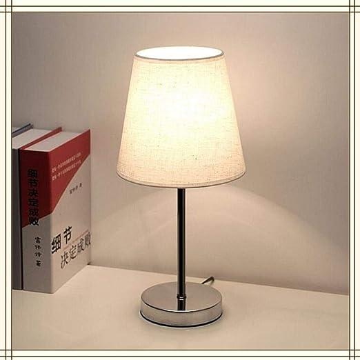 Bola de cristal cubierta de vidrio lámpara de mesa dormitorio ...