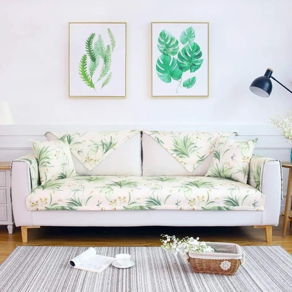 Amazon.com: HOMHOM Funda elástica para sofá, color sólido ...