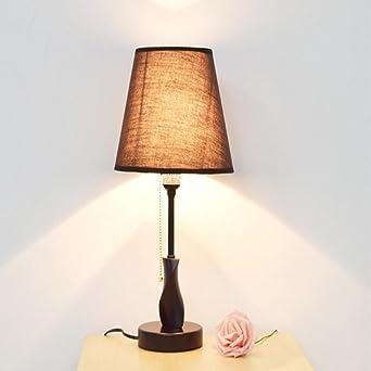 Lampe De Lin Avec Shade Chevet Café TableEonant iuXPkZ