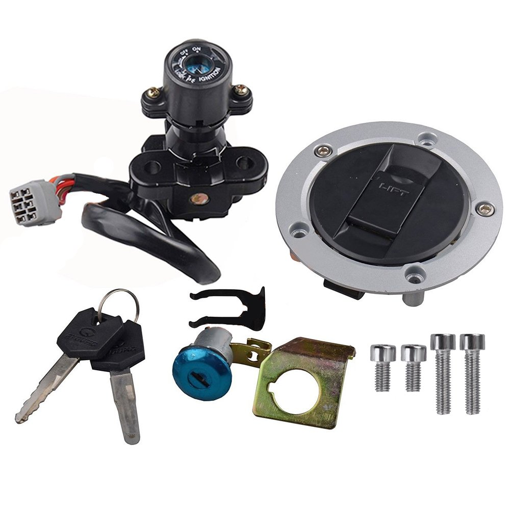 Ignition Switch Gas Petrol Cap Cover Set for GSX Suzuki Key Popular products Special sale item Lock