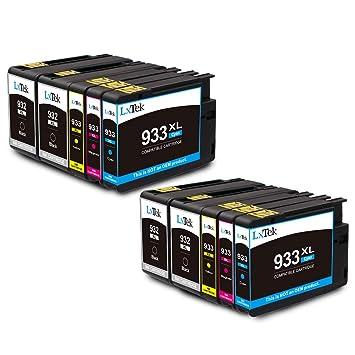 LxTek Compatible para HP 932 933 932XL 933XL Cartuchos de Tinta ...