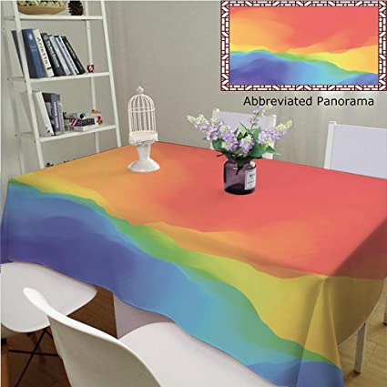 7d51517c981a Amazon.com: Unique Custom Cotton and Linen Tablecloths Colorful ...