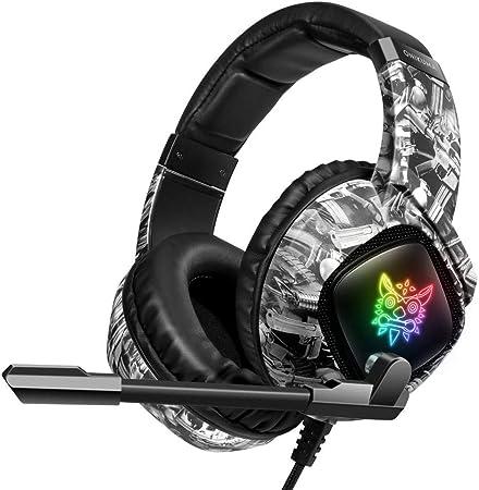 FRGTHYJ - Auriculares con cable, elegantes auriculares Hipster para PC portátil PS4 Xbox One Switch: Amazon.es: Hogar