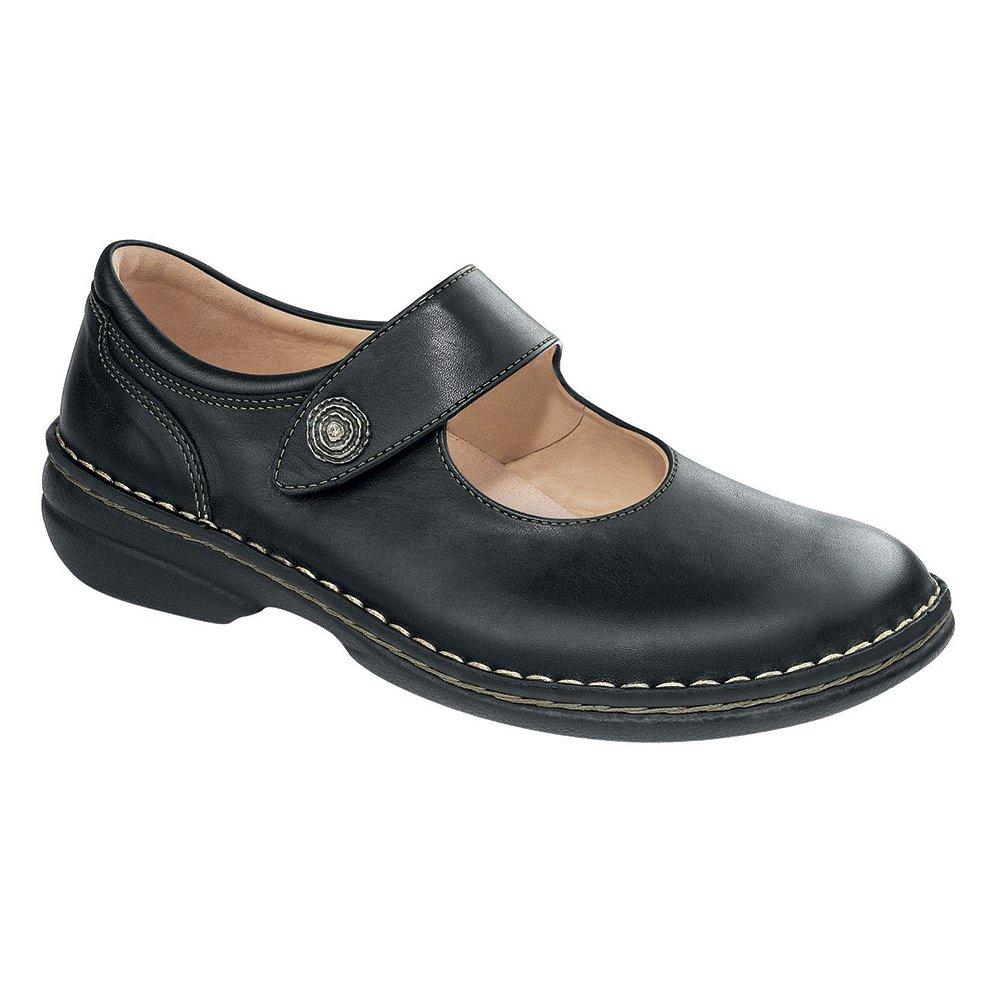 Finn Comfort Laval Womens Flats, Black Nappa, Size - 37