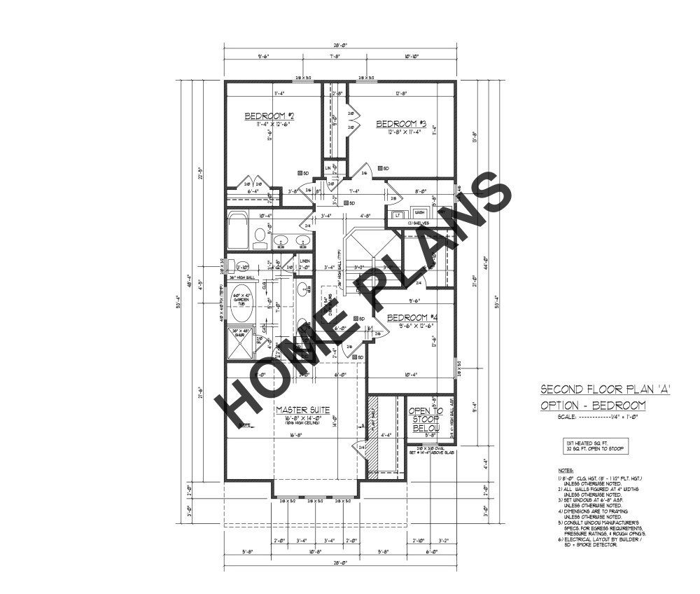 Amazon com: SQ FT HTD ? UNHT ? Plan # I-1819 Home/House