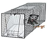 OxGord Humane Pest and Rodent Control Live Animal Trap - 24'' x 7'' x 7''