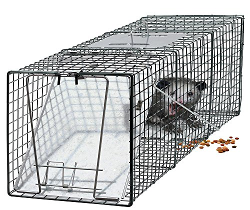 OxGord Humane Pest and Rodent Control Live Animal Trap - 24'' x 7'' x 7'' by OxGord