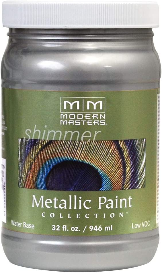 Modern Masters ME150-32 Metallic Silver, 32-Ounce