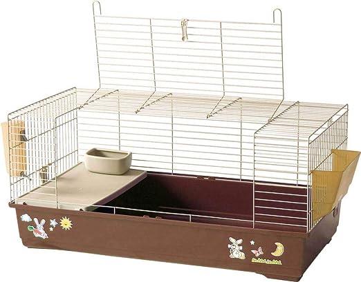 Tommy - Jaula para conejos enanos, 102 x 53 x 46 cm: Amazon.es: Hogar