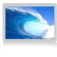 Tablet Android 7.0 da 10''con Procesador de cuatro núcleos WiFi navigazione Bluetooth 4 GB di RAM 64 GB di Memoria Dual SIM 3G è anche un cellulare(Blanco)