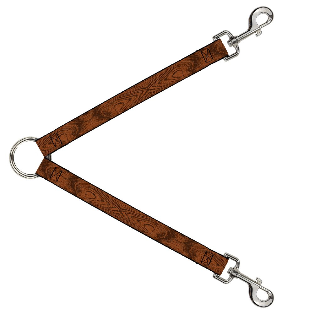 Buckle-Down DLS-W32330 Leash Splitter-Wood Grain Cherry Wood, 1  W-30  L