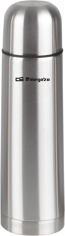 Orbegozo Termo líquido, INOX, 500 ml, Acero Inoxidable