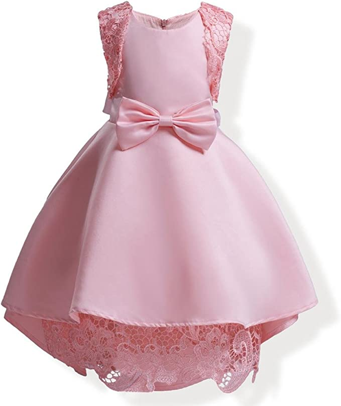 AiZeYu Balón Vestido de los Vestidos de la Princesa para Niñas ...