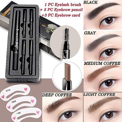 Pincel de pestañas bolígrafo para cejas Make Up cejas impermeable ...