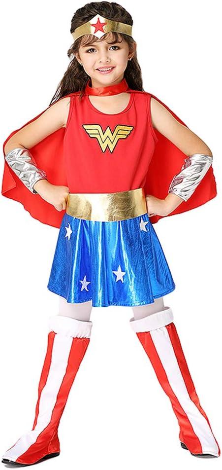 Disfraz de Mujer Maravilla para niños 3-8 años Ropa de Cosplay ...