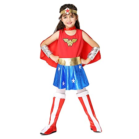 Disfraz de Mujer Maravilla para niños 3-8 años Ropa de ...