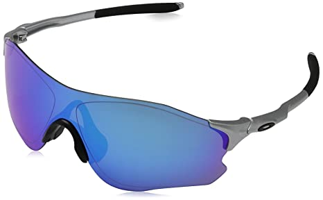 afe73ebd94 Image Unavailable. Image not available for. Colour  Oakley Men s Evzero Path  Non-Polarized Iridium Rectangular Sunglasses