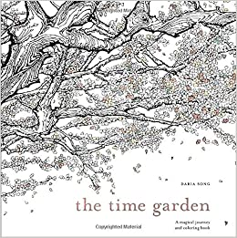 Amazon The Time Garden A Magical Journey And Coloring Book Adult Books 0884140696947 Daria Song